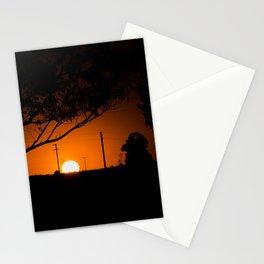 Pampas Sunset. Stationery Cards