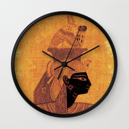 The Art of Ancient Egypt Wall Clock