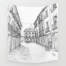 Calle Mayor of Alcalá Wall Tapestry