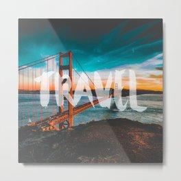 TRAVEL San Francisco Metal Print
