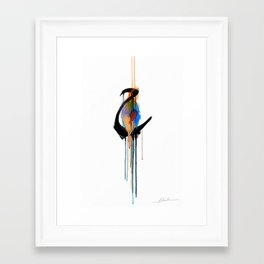 """Ha'a (The letter """"H"""" in English) Framed Art Print"""