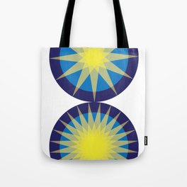 Compass Doubled Tote Bag