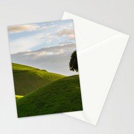 One Tree Hills, Ireland, Springtime, Emerald Isles Photograph Stationery Cards