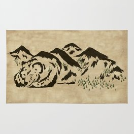 Sleepy Bear Mountain Rug