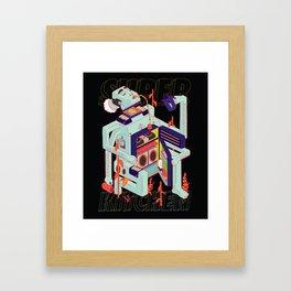 Super Kitchen 2 Framed Art Print