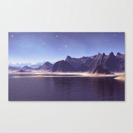 Imaginary world Canvas Print