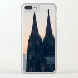 COLOGNE 18 Clear iPhone Case