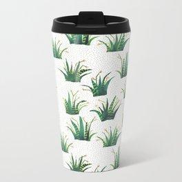 Field of Aloe Metal Travel Mug