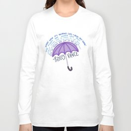Phyllis Rain Cliches Long Sleeve T-shirt