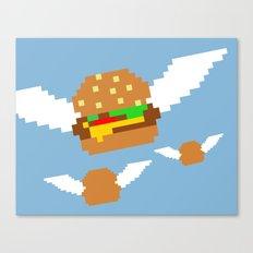 Food Flight Canvas Print