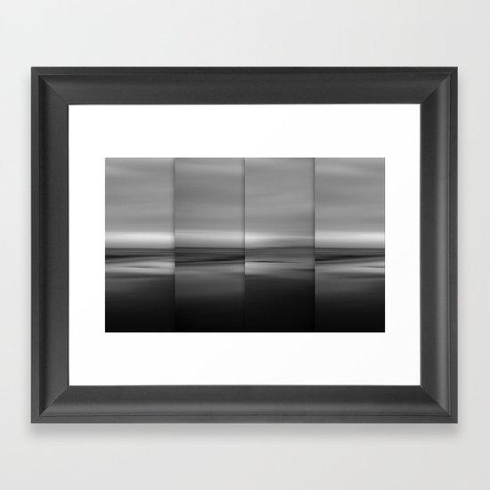 Moontide - Polyptych Framed Art Print
