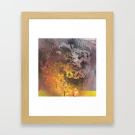 I am her continuous revolution. Framed Art Print