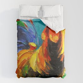 Rooster Pattern Comforters