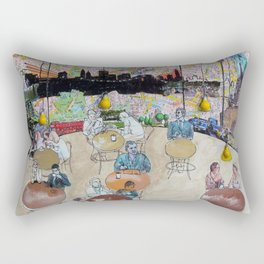 Coffee Shop NYC Rectangular Pillow