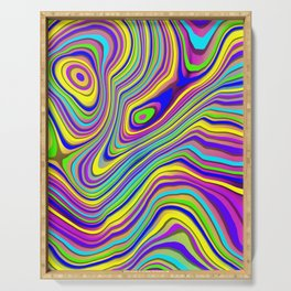 Neon Pour Serving Tray