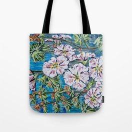 Flowers Painting Tote Bag