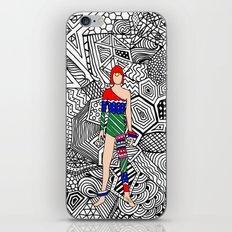Bowie Fashion 7.5 iPhone & iPod Skin