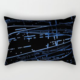 Neon Disco #4 Rectangular Pillow