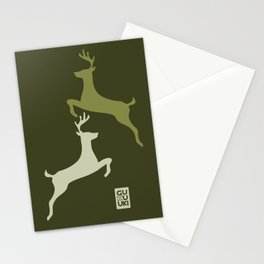 Deers Militar Stationery Cards
