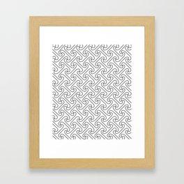 pattern t2 Framed Art Print