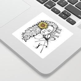 #STUKGIRL QUEEN Sticker