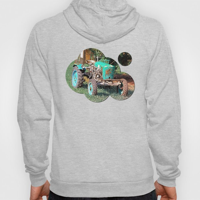 Old traditional Lindner tractor   conceptual photography Hoody