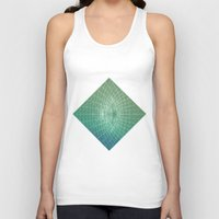 square Tank Tops featuring square by Alessandro Spedicato