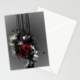 At war, looking for peace Stationery Cards