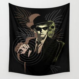 G-Man on Holiday Wall Tapestry