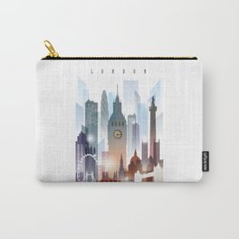 London city skyline, United Kingdom Carry-All Pouch