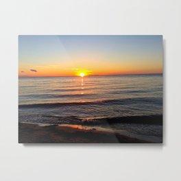 Sunset of a Lifetime Metal Print