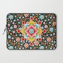 Geometric Chintz Mandala Laptop Sleeve