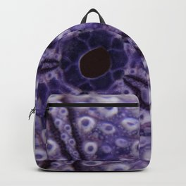 purple urchin I Backpack