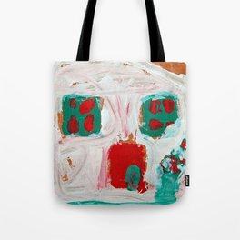 holiday gingerbread house - kids art Christmas Tote Bag