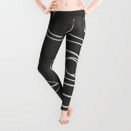 Minimal Abstract Line V Leggings