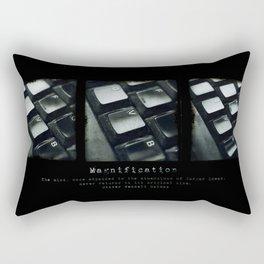 Magnification Rectangular Pillow