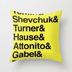 PUNK-ROCK'S FINEST Throw Pillow