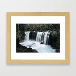Waterfall Overhaul Framed Art Print