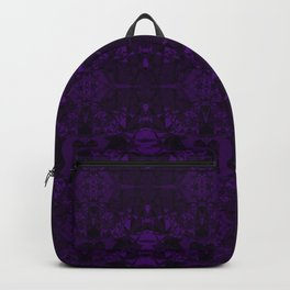 Purple Fracture Backpack