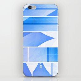 Color Hue (Five Panels Series) iPhone Skin
