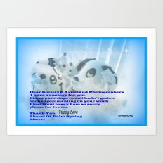 To Artists and Photographers Art Print