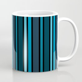 Indigo Blue Stripe Coffee Mug