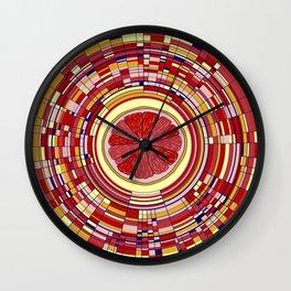 Pop fruit Wall Clock