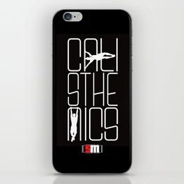 Calisthenics iPhone Skin