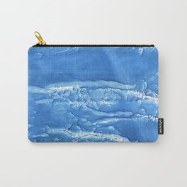 Corn flower blue abstract watercolor painting Carry-All Pouch