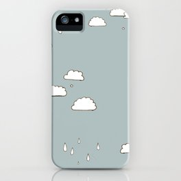 clouds iPhone Case