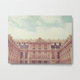 Chateau Versailles Metal Print