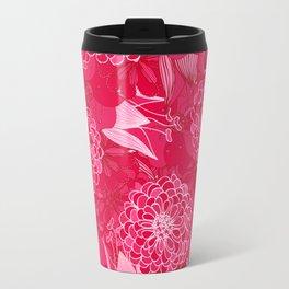 Giardino Pink Travel Mug