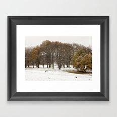 This beautiful winter Framed Art Print