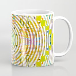 Rustic geometry Coffee Mug